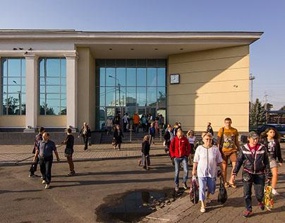 Slovyansk station redevelopment