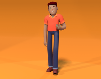 3D Motion character for Explainer Video