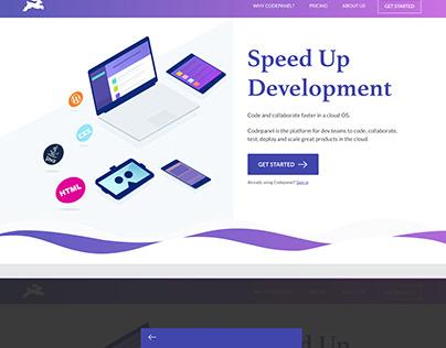 Landing Page/UI Design