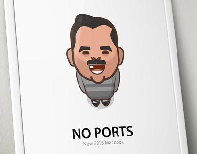 No Ports Poster