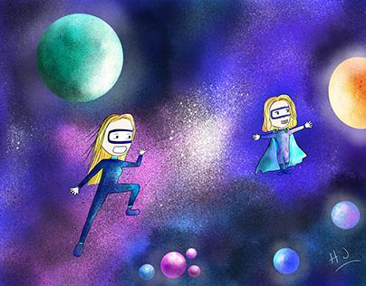 Exploradores de la galaxia