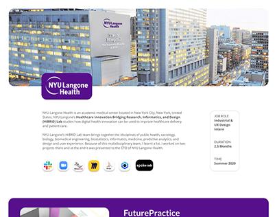 NYU Langone Health Internship