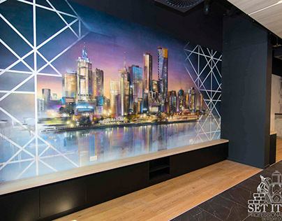 Collections Bespoke Hotel Interior Wall Art