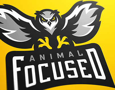 Animal Focused Owl eSports Logo Project
