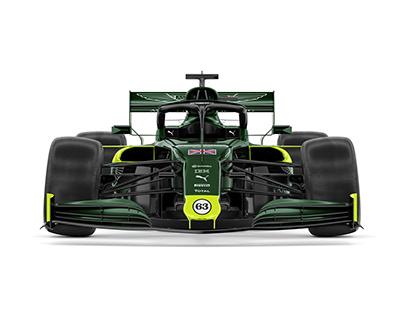Aston Martin F1 - 2021 Concept