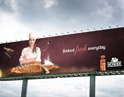 Wonder bread launch compaign