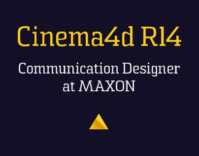 CINEMA 4D Release 14