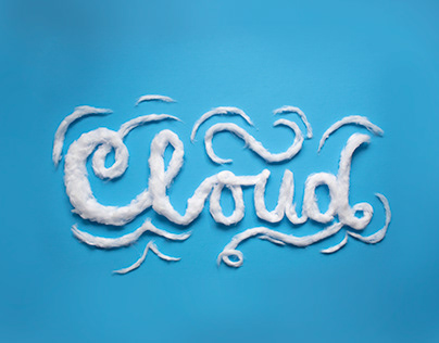 Cloud Type Experiment Poster Process Work