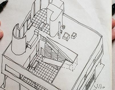Sketch Le Corbusier