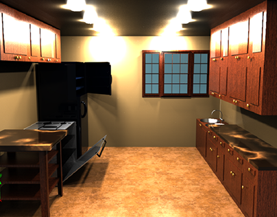 Kitchen 3D Project