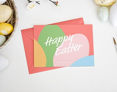Easter Card Mockup 3