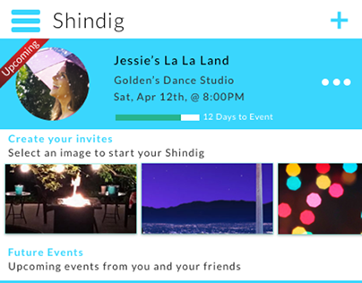 Shindig - Invite Flow
