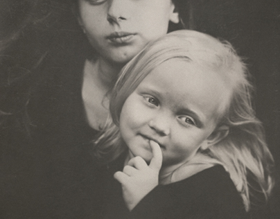portraits of country children