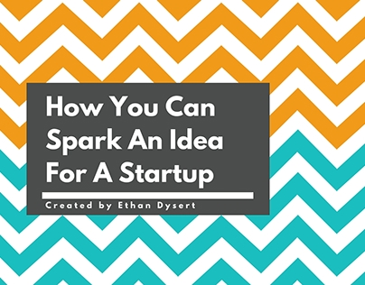 How You Can Spark An Idea For A Startup