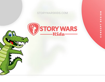 Story writing portal for kids