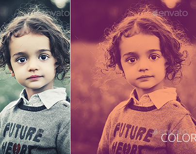 Duotone Color FX - Hipster Photoshop Effects