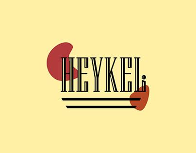 HEYKELİ Sample Logo Design