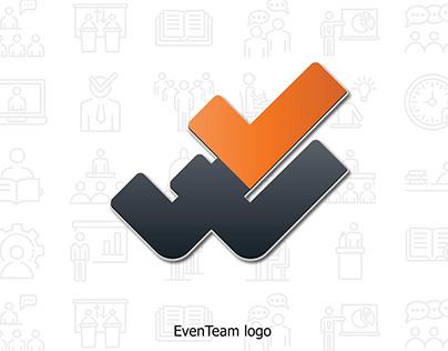 EvenTeam logo and brand design