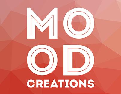 """Mood Creations"" corporate identity by Irina Ivanova"