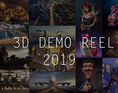 3D DEMO REEL 2019