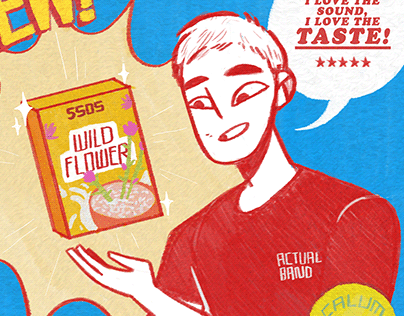 Wildflower Mock Cereal Ad