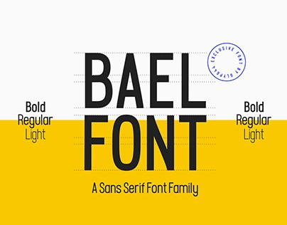 BAEL | Sans Serif Font