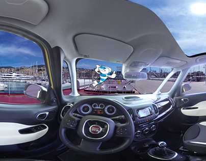 Fiat 500L all'Acquario di Genova || VFX & Compositing