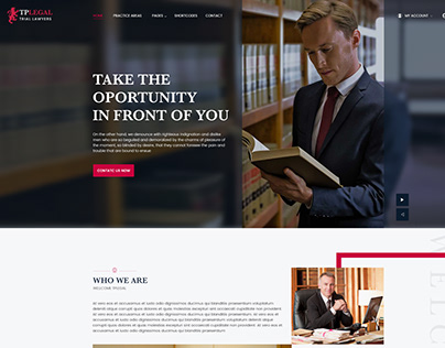 TP LEGAL- Premium PSD Template