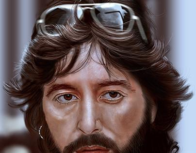Al-pacino Digital Painting Portrait