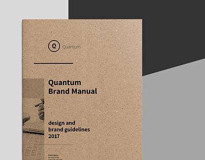 Quantum Brand Manual & Guidelines