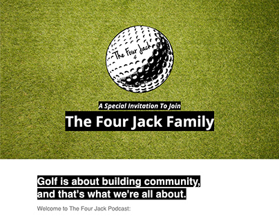 The Four Jack Podcast - Email Marketing Campaign Design