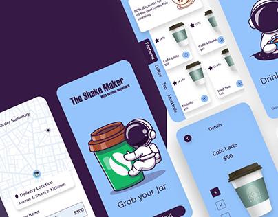 Food & Drink Store Mobile App