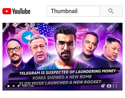 YouTube Thumbnail - Information video