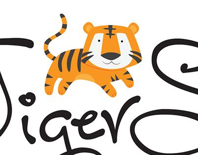 TigerSide Preschool Branding