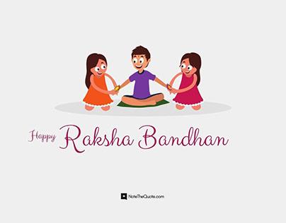 Happy Raksha Bandhan Quotes, Wishes, Images