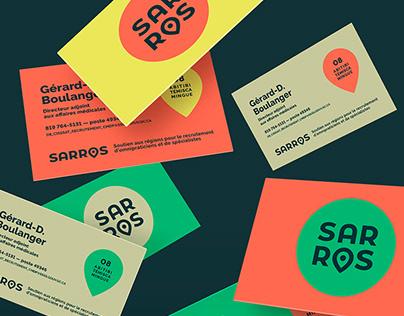 SARROS - Image de marque