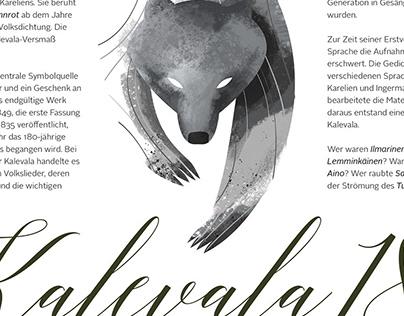 Graphic Design and Illustrations for Kalevala Spirit