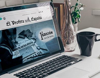 Diseño y Maquetación El Profeta Edición España