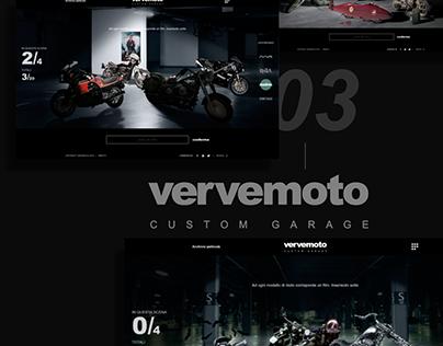 vervemoto custom garage