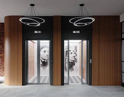 Entrance Area I