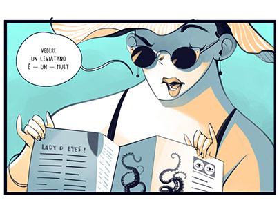The Kraken's Route - comics