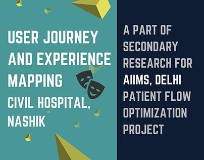 User Experience Mapping - Civil Hospital, Nashik