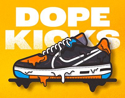 Dope Kicks | Sneaker Illustrations