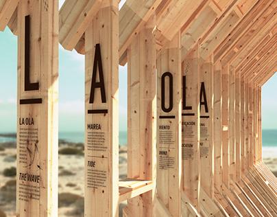 """Estación interpretativa """"La Ola"""""""