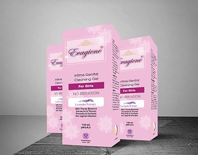 Genital Cleansing Gel Packaging