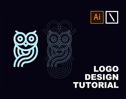 Owl Logo Design Tutorial in Adobe Illustrator