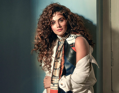 Anniversary issue for Elle India with Taapsee Pannu