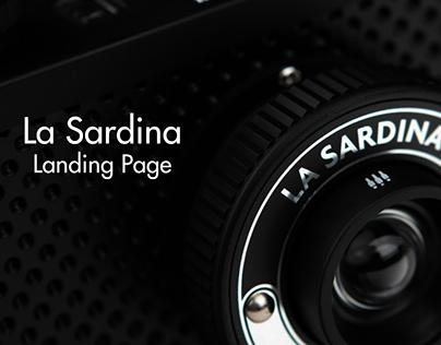 La Sardina - Landing Page