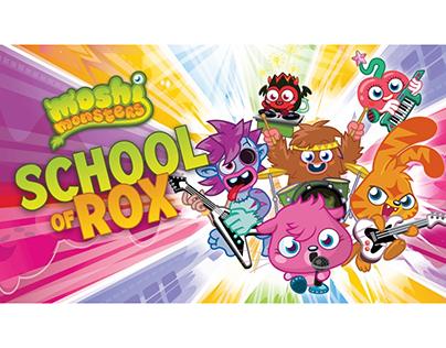 Moshi Monsters: School of Rox