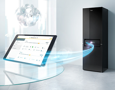 Whirlpool Europe - Smart Appliances - 3D Rendering CGI